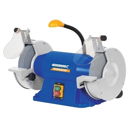 "Picture of Bench Grinder 200mm (8"") with Flexible LED Light"