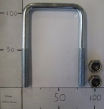 Picture of 100MM X 65MM X 10MM PLATED SQ