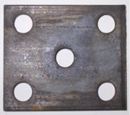 Picture of 60 X 45 X 10MM FISH PLATE 16MM