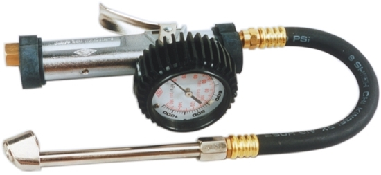 Picture of 3 Function Tyre Inflator with Dual Calibrated Gauge Rating