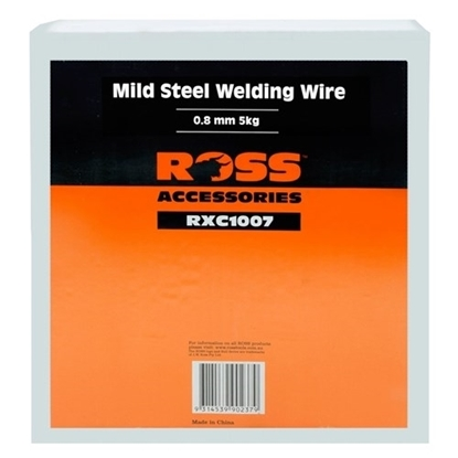 Picture of MIG WIRE MILD STEEL 0.8MM X 5KG